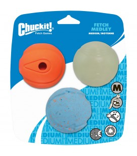 FETCH MEDLEY MEDIUM 3 PACK
