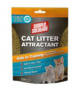 CAT LITTER ATTRACTANT, SIMPLE SOLUTION