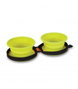 GAMELLES DUO PLIABLES 2 X 370 ML