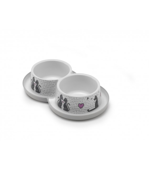 DOUBLE TRENDY DINNER 2X350ML CAT'S IN L
