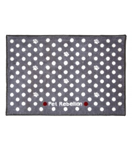 BOOT MATE DOTTY GREY 67 X 100 CM