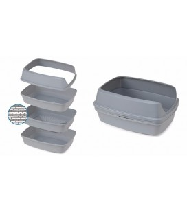 TOILETTE A CHAT LIFT TO SIFT 57 CM GREY