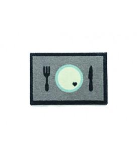 NAPFUNTERLAGE 40 X 60 CM DINNER GRAU