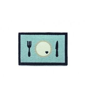 NAPFUNTERLAGE 40 X 60 CM DINNER BLAU