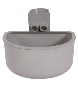 KENNEL WATER BOWL SINGLE, LARGE