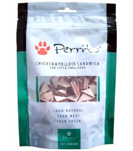 PERRITO CHICKEN & POLLOCK SANDWICH FOR CATS & SMALL DOGS