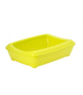 ARIST-O-TRAY & REBORD LARGE LEMON YELLO