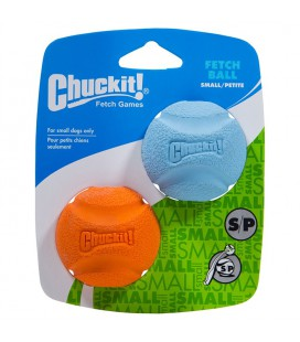 FETCH BALL SMALL CHUCK IT MIX COULEUR