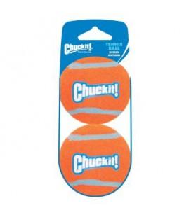 TENNIS BALL MEDIUM CHUCK IT 2 PACK (SS)