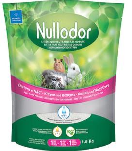 NULLODOR LITIERE CHATON 1.5 KG
