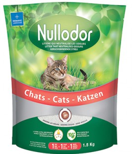 NULLODOR LITIERE CHAT 1.5 KG