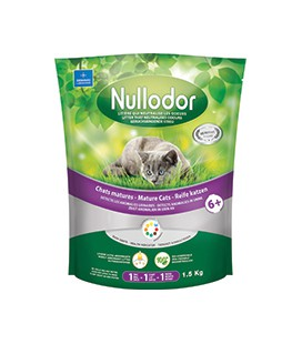 NULLODOR LITIERE CHAT MATURE 1.5 KG