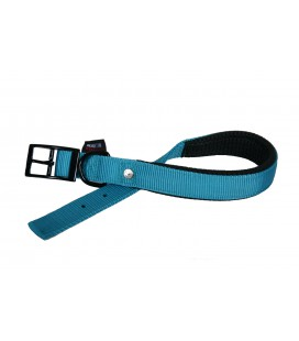 COLLIER CONFORT 25-55 TURQUOISE