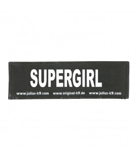K9 LOGO 110 X 30 MM SUPERGIRL