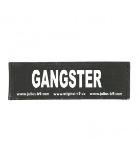 K9 LOGO 110 X 30 MM GANGSTER