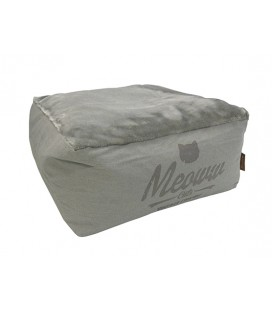 WOOF MEOWW HOCKER M LIGHT GREY