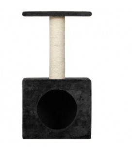 CAT TREE KITTY NICHE 30X30X56.5CM ANTHR