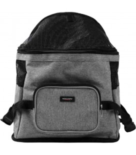 FRONT CARRIER WOUAPY 31X22X25CM GREY