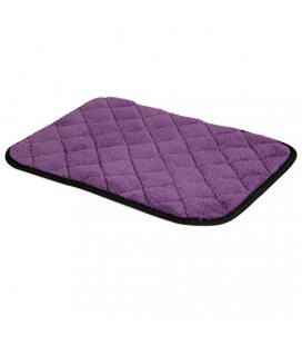 JG QUILTED MAT POURPRE