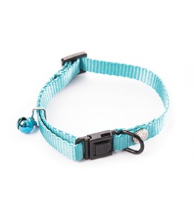 COLLIER REGLABLE NYLON UNI BLEU