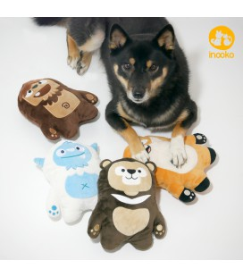INOOKO Pack de 5 peluches - Mountain Folks