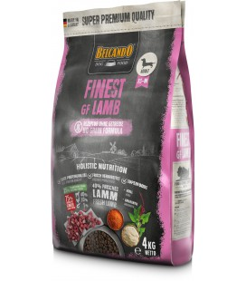 FINEST GF LAMB 4 KG BELCANDO NEW