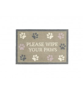 TAPIS D'ENTREE WIPE YOUR PAW 50X75CM