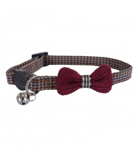 ROSEWOOD COLLIER BURGUNDY RED