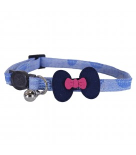 ROSEWOOD COLLIER DENIM NAVY BOW