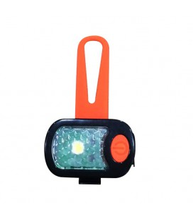 ARKA HAOK LAMPE DE SECURITE ORANGE EN SILICONE