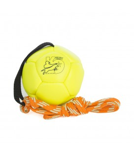 K9 SHOWTRAINING BALL 100 MM JAUNE FLUO