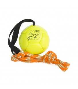 K9 SHOWTRAINING BALL 80 MM JAUNE FLUO