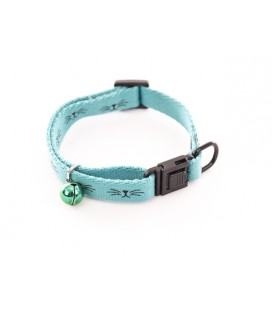 COLLIER CHAT FRIMOUSSE TURQUOISE