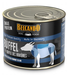 """CARTON DE 6 BOITES BELCANDO """"SINGLE PROTEIN"""" BUFFLE 200 G"""